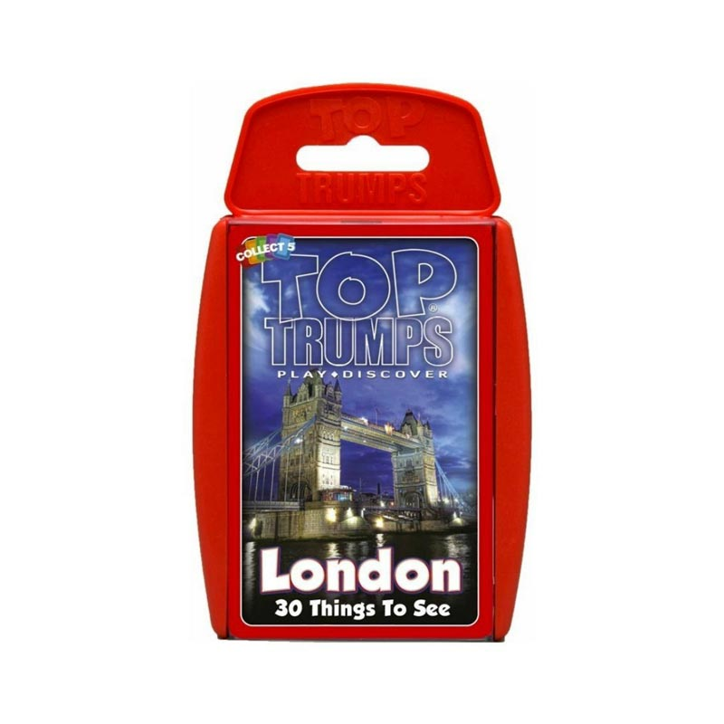 London games and puzzles - London Top Trumps