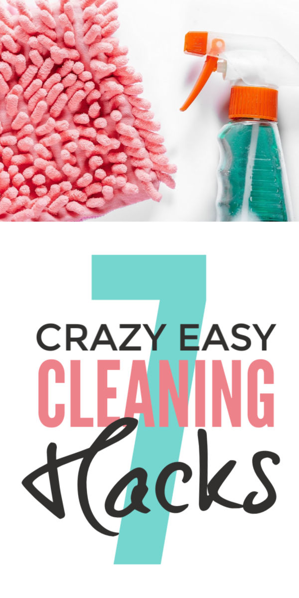 These quick easy cleaning hacks are must know lazy girl tips and tricks to deep clean your home including the bathroom, kitchen and bedroom - they are the lifehacks you can't do without #cleaning #hacks #lifehacks #cleaningtips #cleaningtricks #cleaninghacks