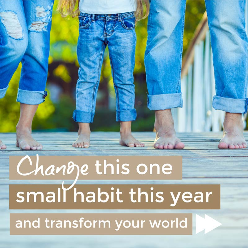 Make this one change - change this one habit this year and transform your world #habits #healthyhabits