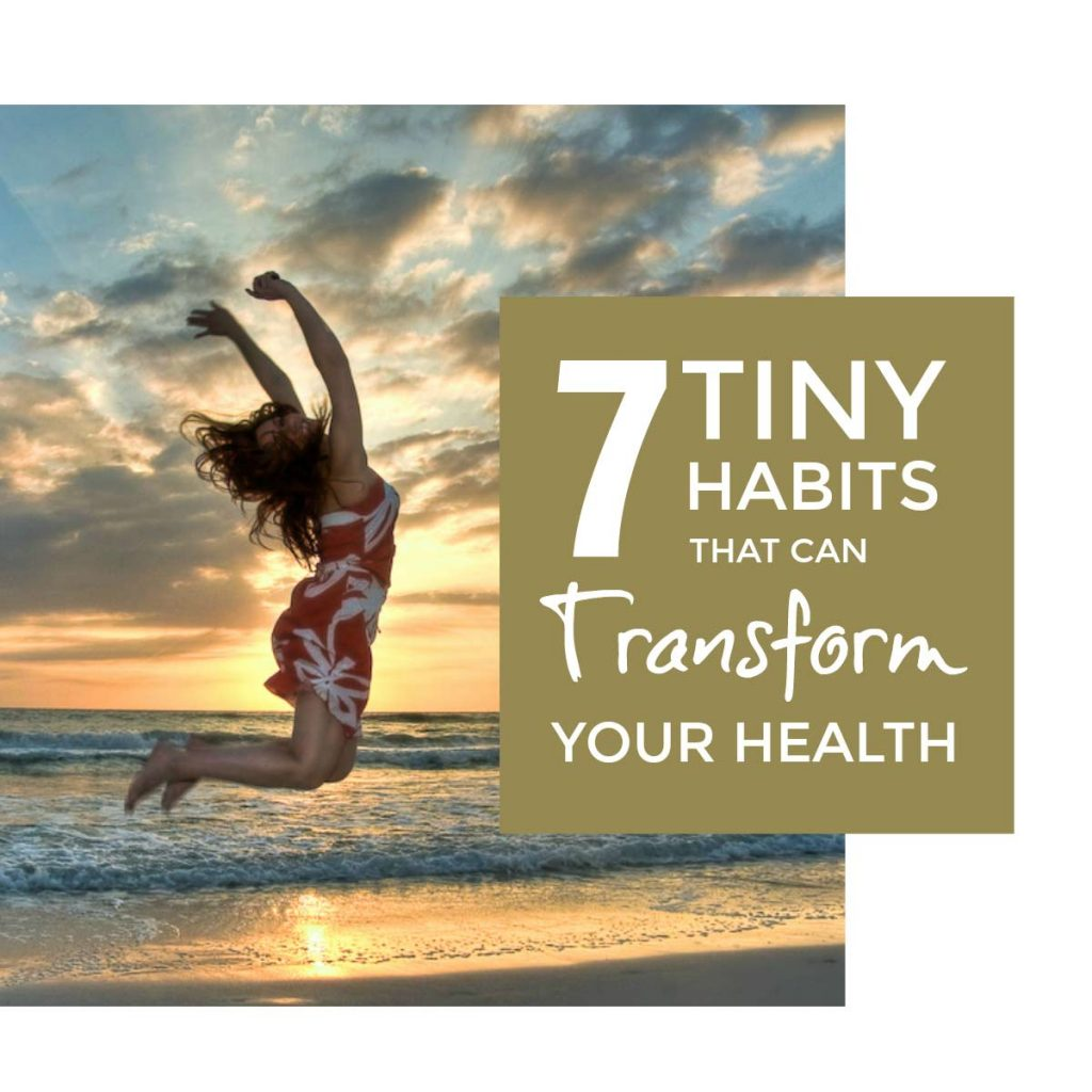 Tiny habits that can transform your health WITHOUT a fancy diet you will never stick to #healthhabits #healthyeating #healthyliving