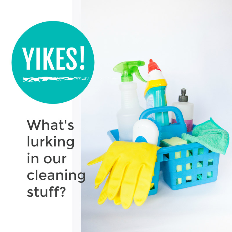 Do you really know what dodgy toxins are lurking in your everyday cleaning stuff? Read more to find out about the chemicals in your cleaning products and learn easy ways to get them out of your home ... #chemicalfree #cleaning #nontoxic