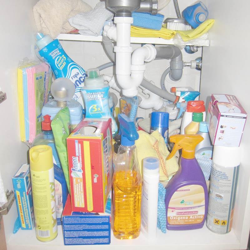 Kitchen Sink Quit Working: Declutter Under Kitchen Sink