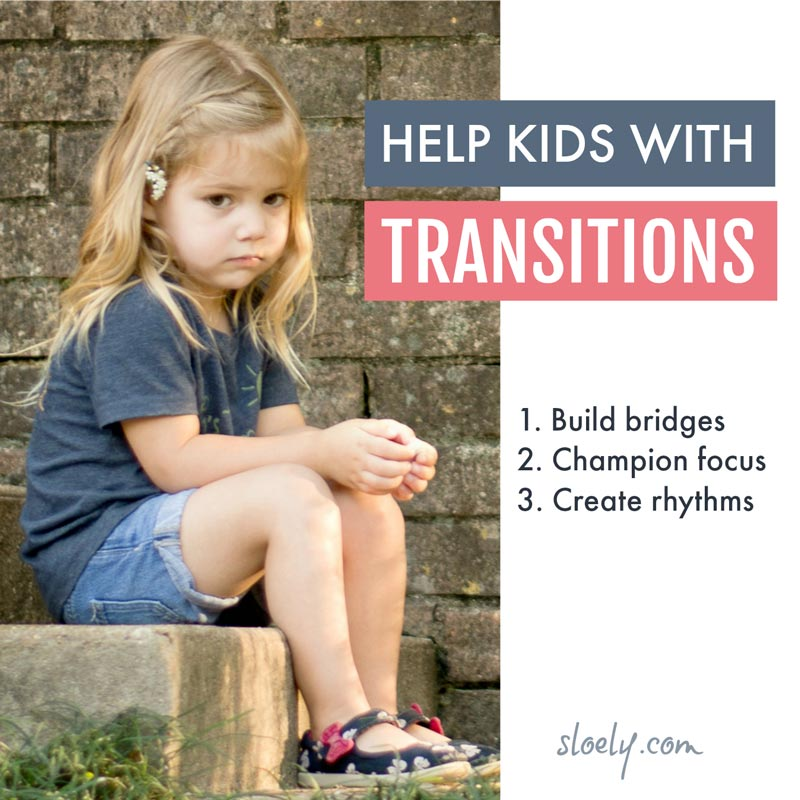 Help kids with transitions - coping with transitions is a lot harder for some kids than others but there are simple ways we can support them #parentingtips #parenting #behaviour #childdevelopment