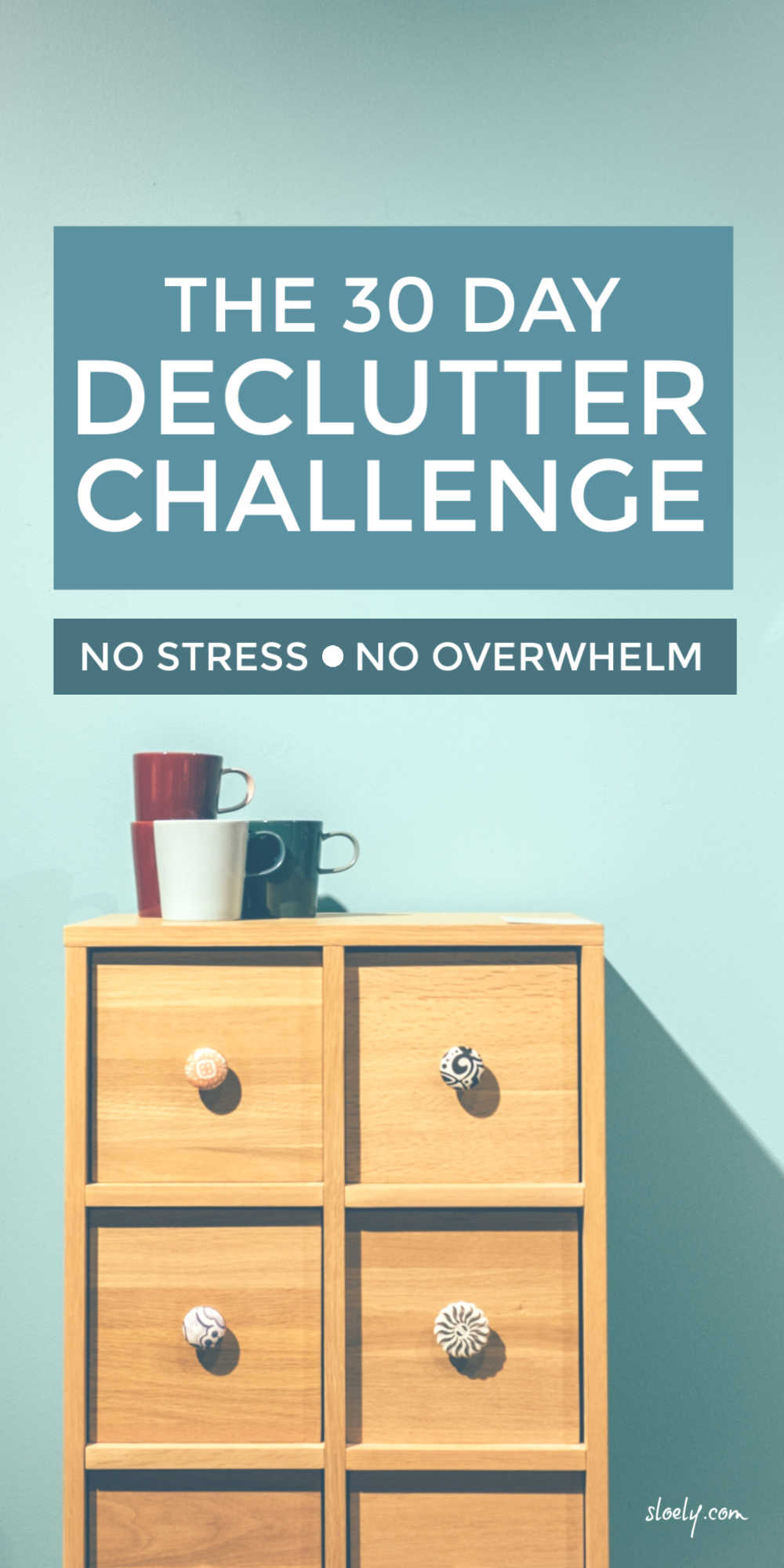 30 Day Daily Declutter Challenge