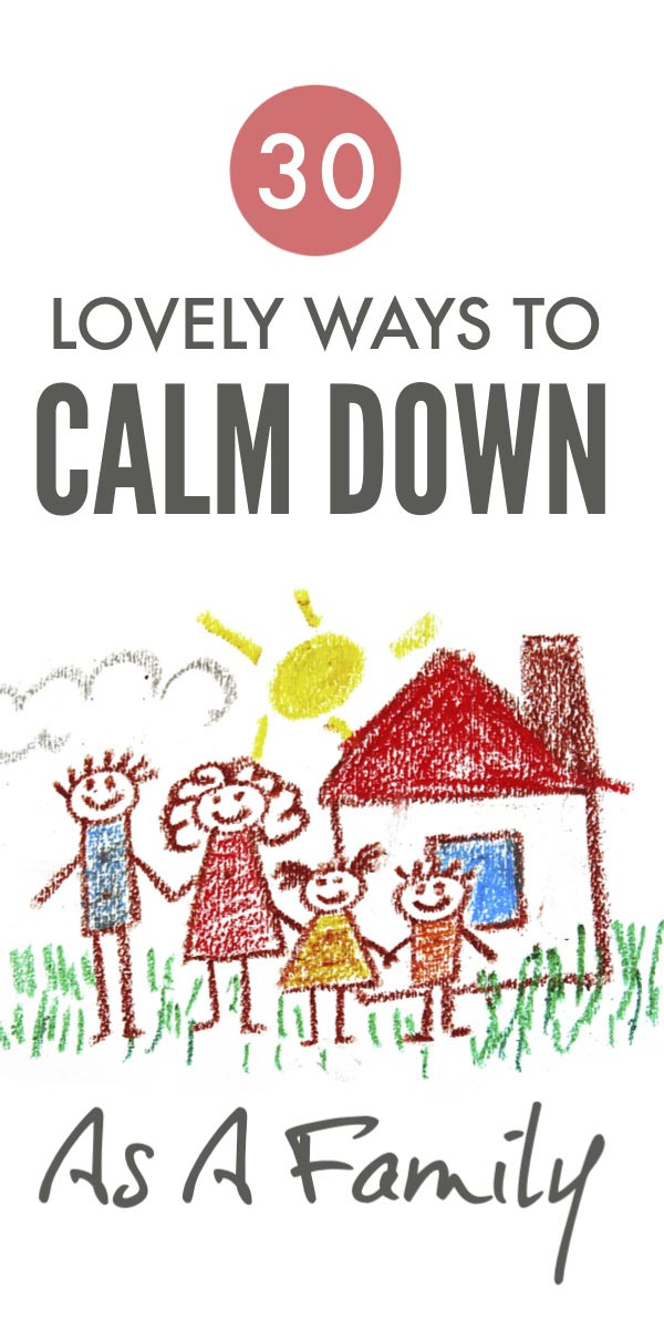 Help the whole family calm down and find happiness with these simple tips #parenting #calm #happiness #tantrums #yelling #behaviour