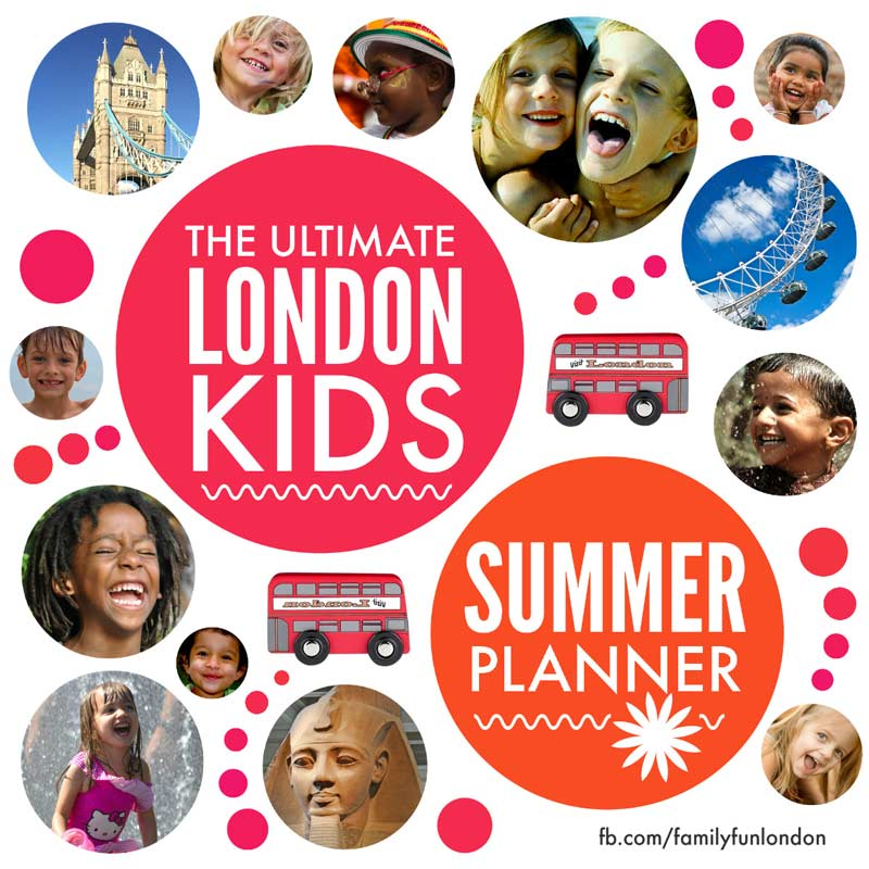 Summer holiday fun for London kids - hundreds of brilliant ideas for places to go with your whole family in London this summer that won't cost you a fortune #london #summerholidays #kids