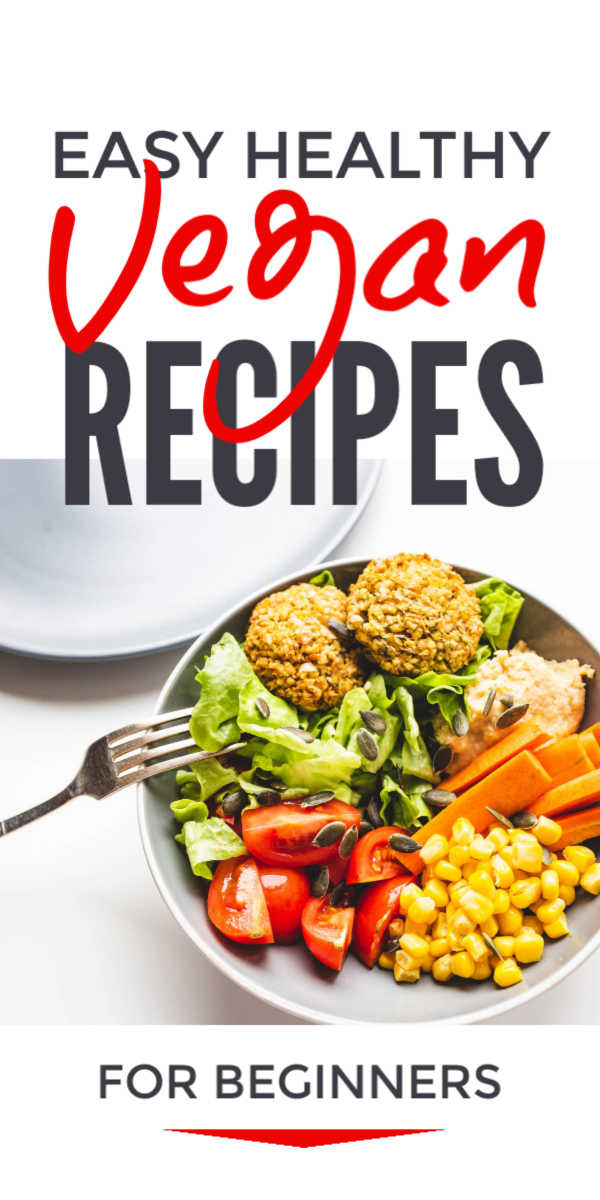 Easy healthy vegan diet recipes and lifestyle ideas for beginners that will help you live more healthily #vegan #veganrecipes #veganism #vegandiet #veganlife #veganlifestyle #health #healthyrecipes #healthyeating #healthyfood #healthyliving #healthylifestyle #healthylife