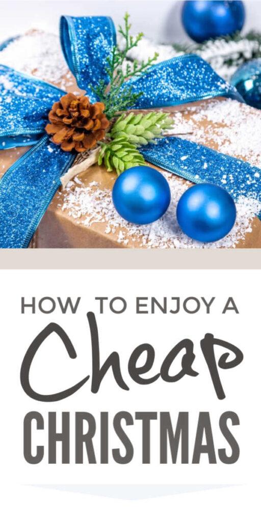 Cheap Christmas On A Budget