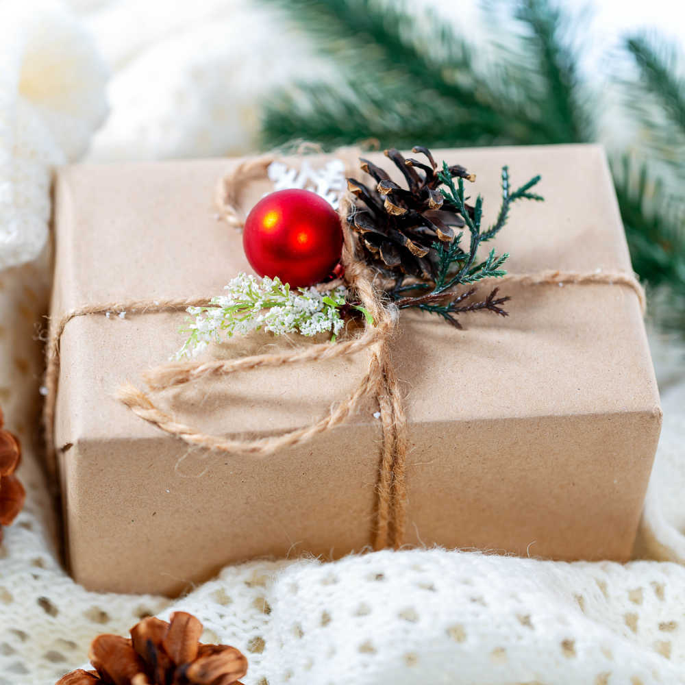 Christmas Ideas.Zero Waste Christmas Ideas