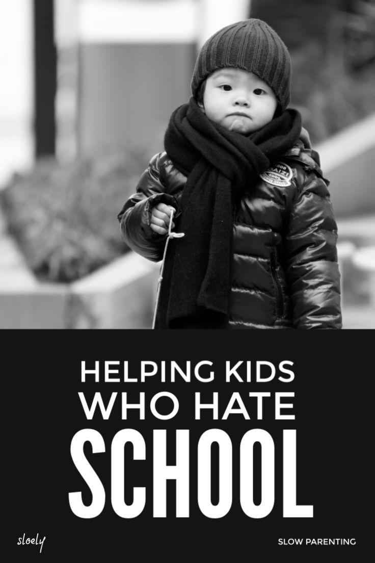 Helping children who hate school