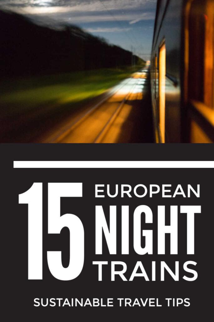European Sleeper Trains