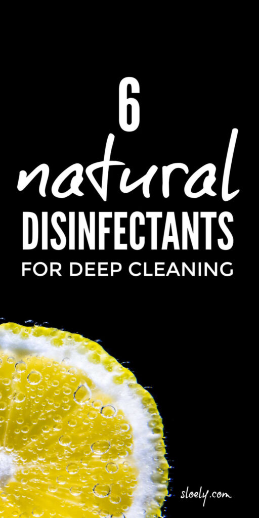 DIY Natural Disinfectant Cleaning Products