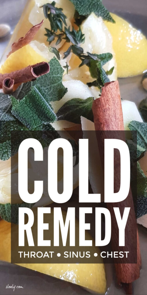 Natural Cold Remedy That Works