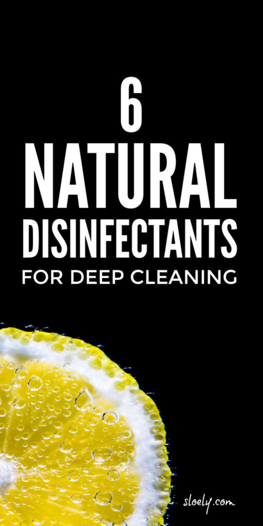 Natural Disinfectant Cleaner Sprays