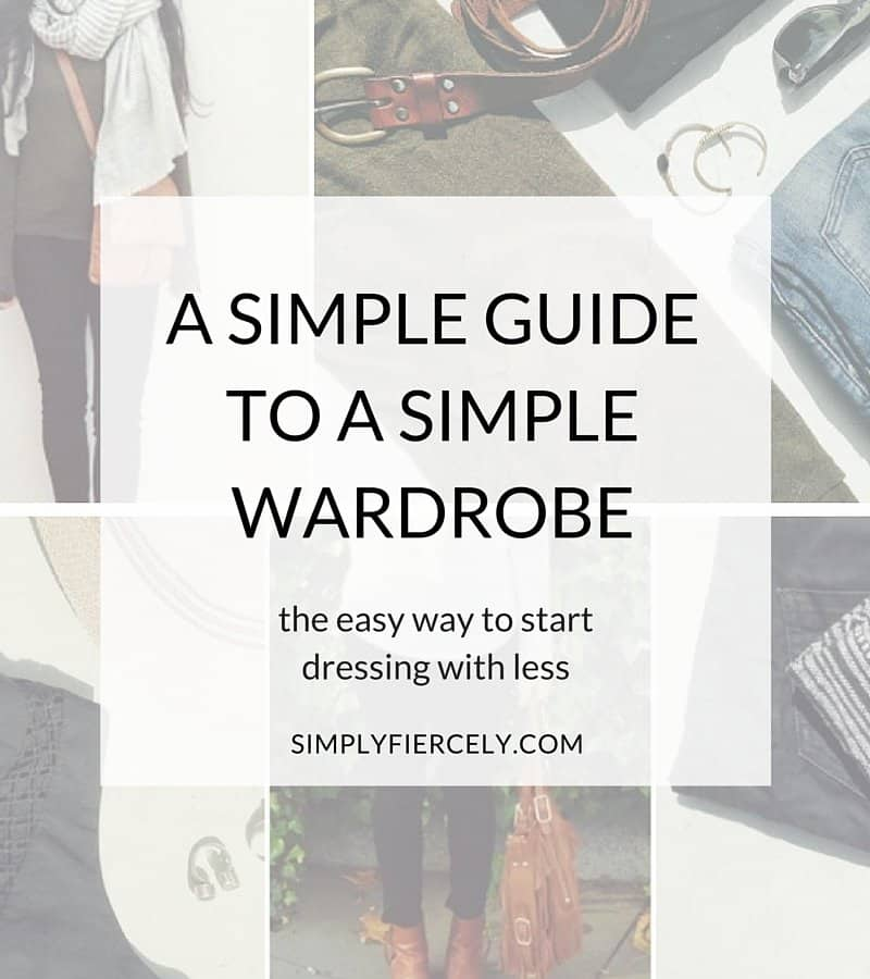 Simple Guide To A Simple Wardrobe