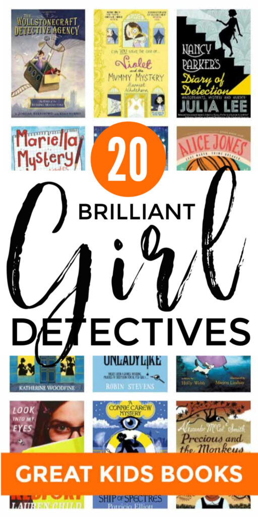 Childrens Books About Girl Detectives