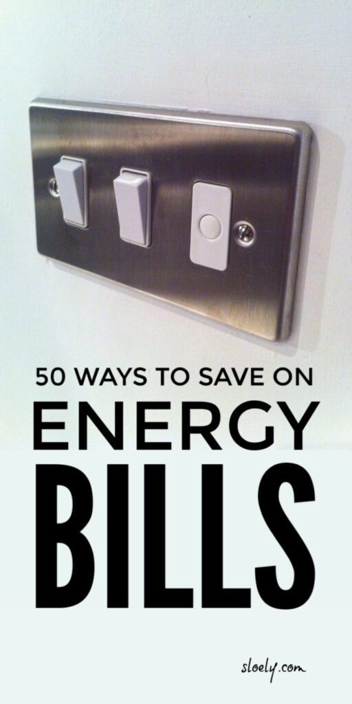 Energy Bill Saving Tips