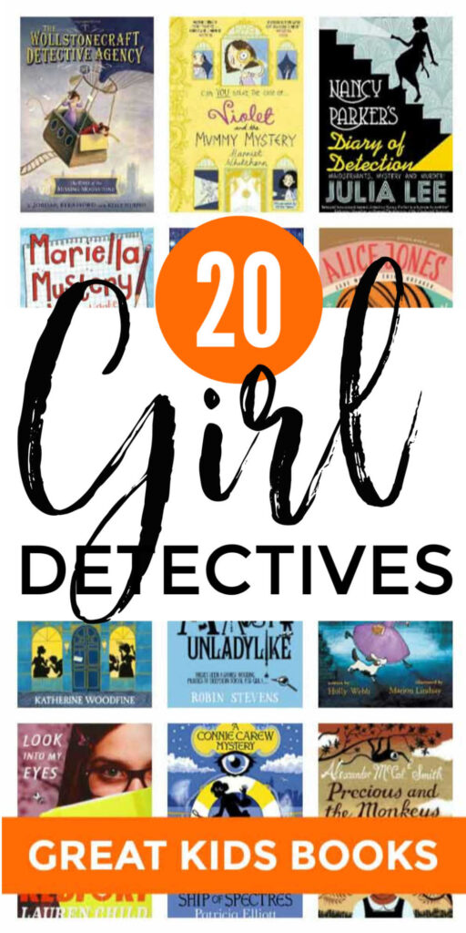 Kids Books About Girl Detectives