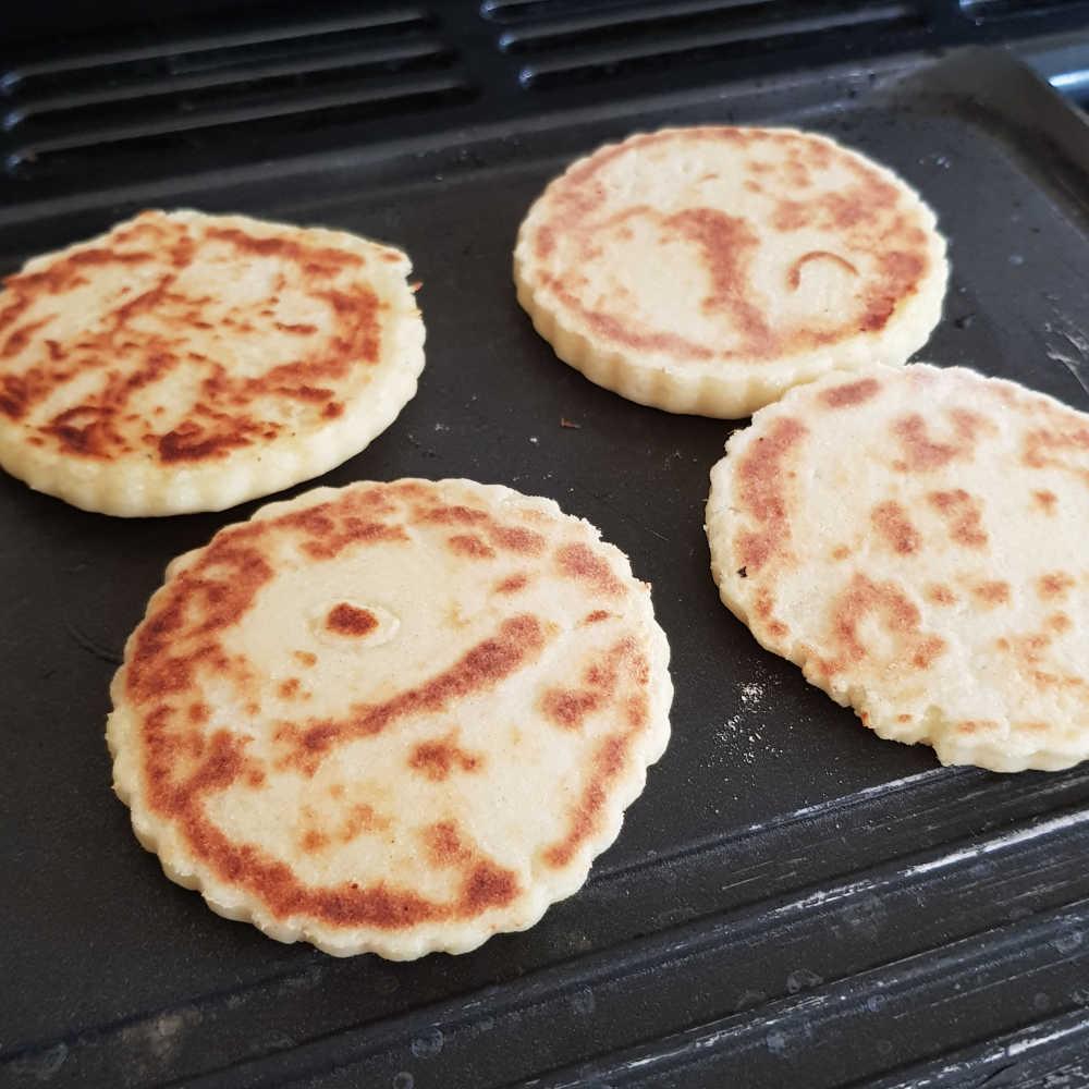 Low Flour Potato Pancakes