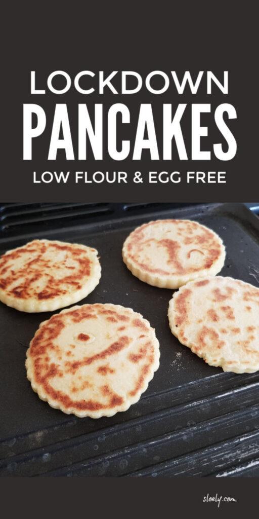 Low Flour Pancakes