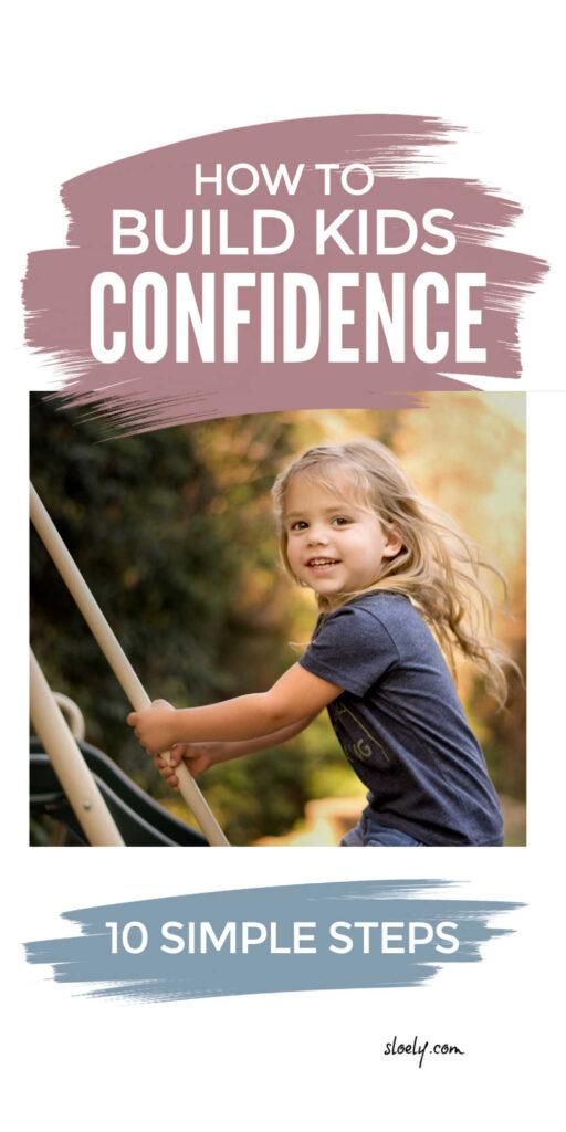 Building Kids Confidence