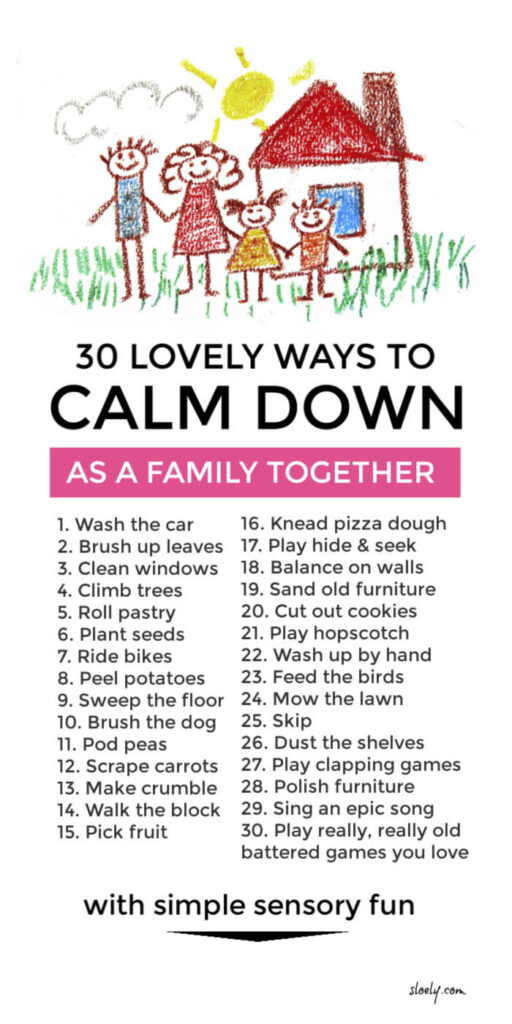 Lovely Ways To Calm Down Kids