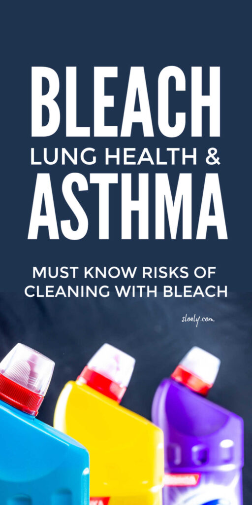 Cleaning With Bleach Safety Risks For Asthma and COPD