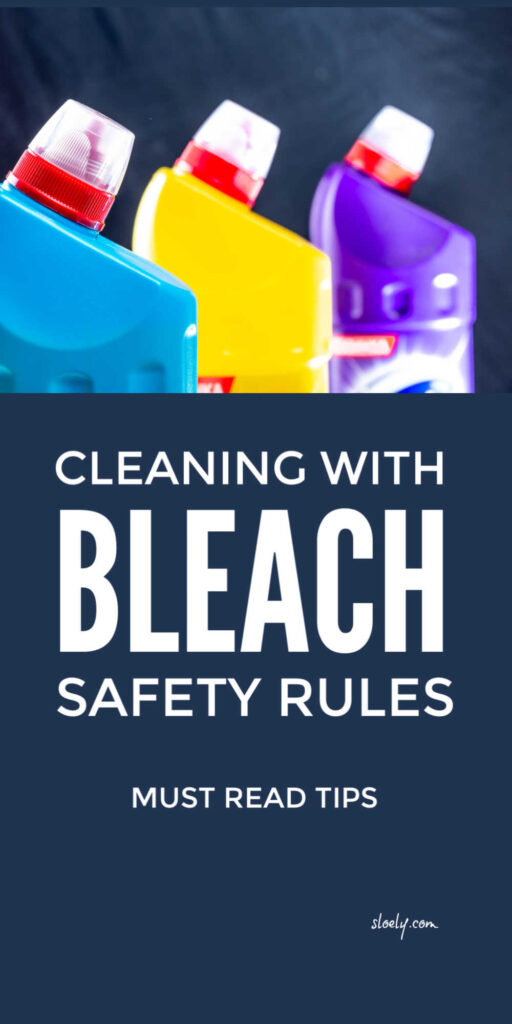 Cleaning With Bleach Safety Tips