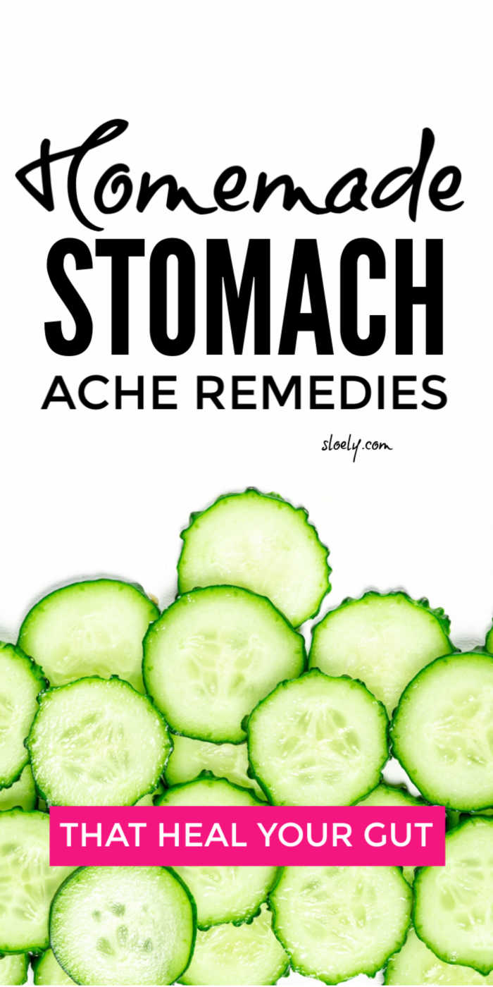 DIY Homemade Remedies for Stomach Ache