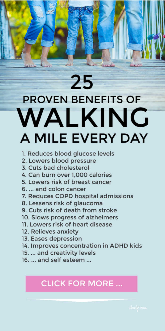 Walking Every Day Benefits