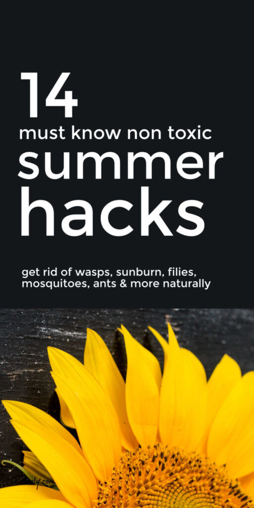 Non Toxic Summer Hacks