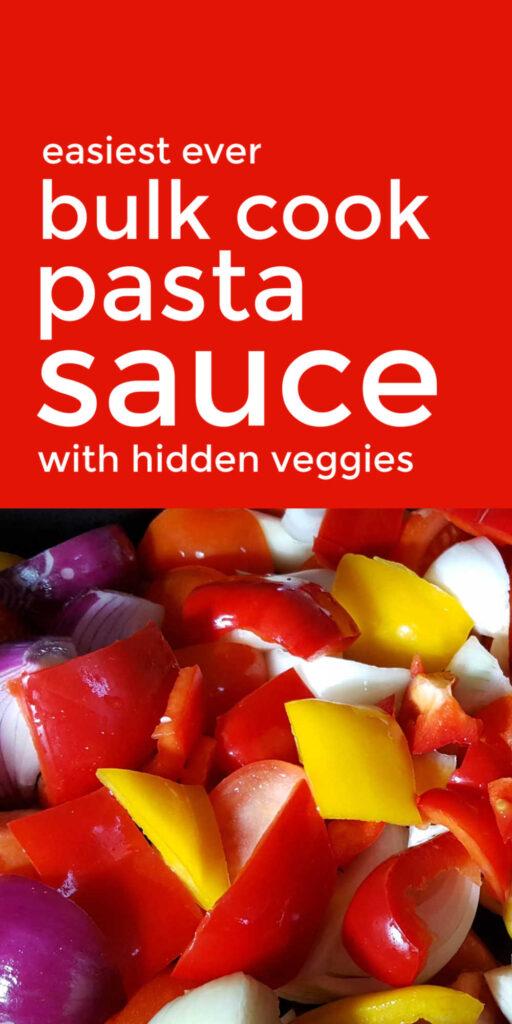 Bulk Cook Pasta Sauce