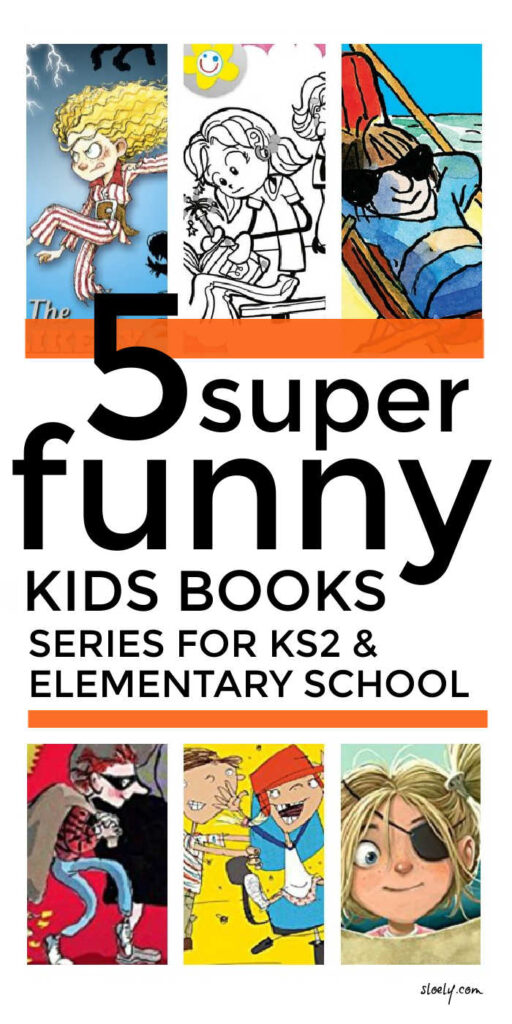 Best Funny Chapter Book Series For Kids