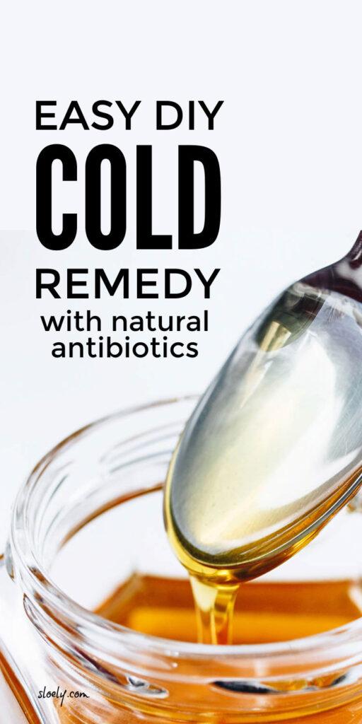 DIY Homemade Cold Remedy