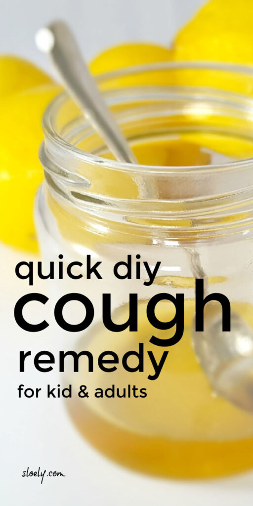 DIY Cough Remedy For Adults & For Kids