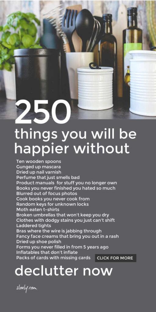 Declutter List