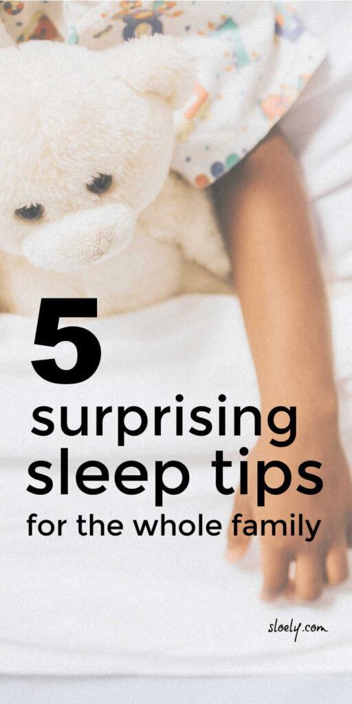 Sleep Tips For Kids & Parents