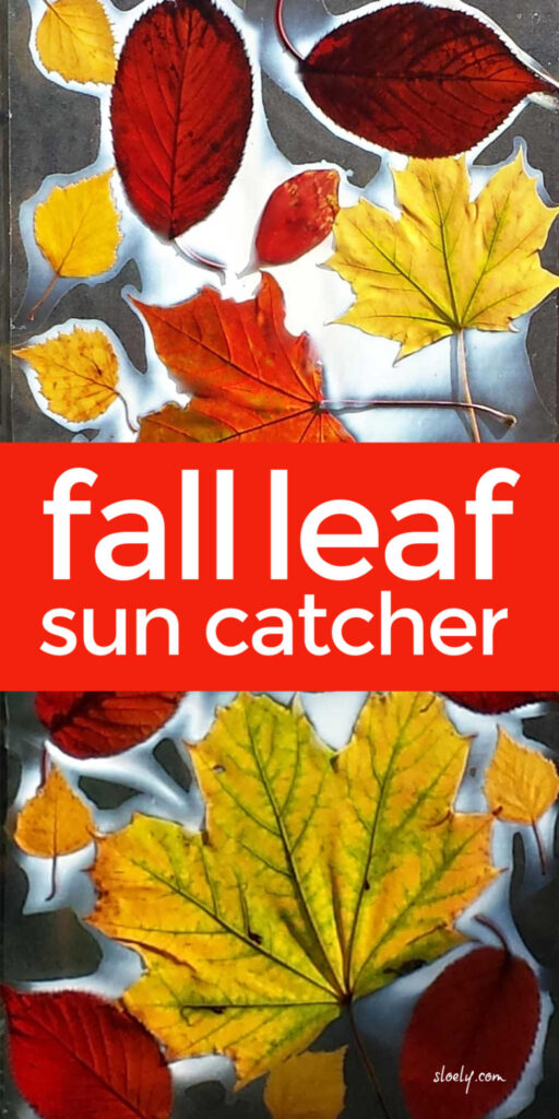 Fall Leaf Craft For Kids