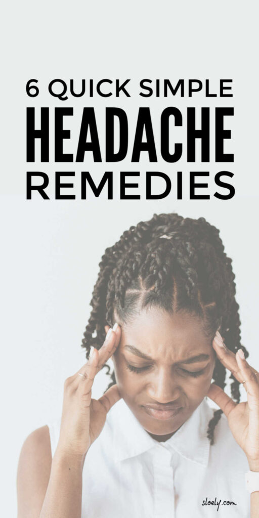 Simple Headache Remedies
