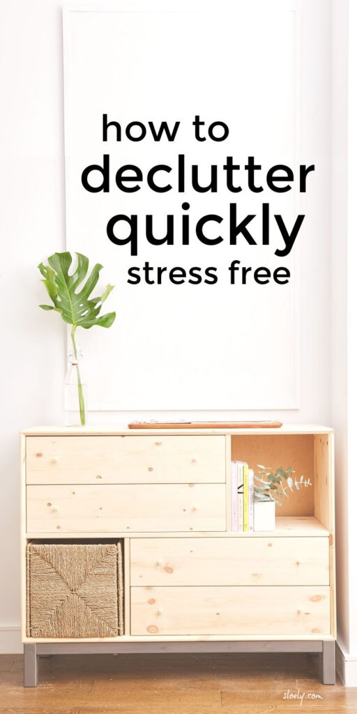 Declutter Fast Without Feeling Overwhelmed