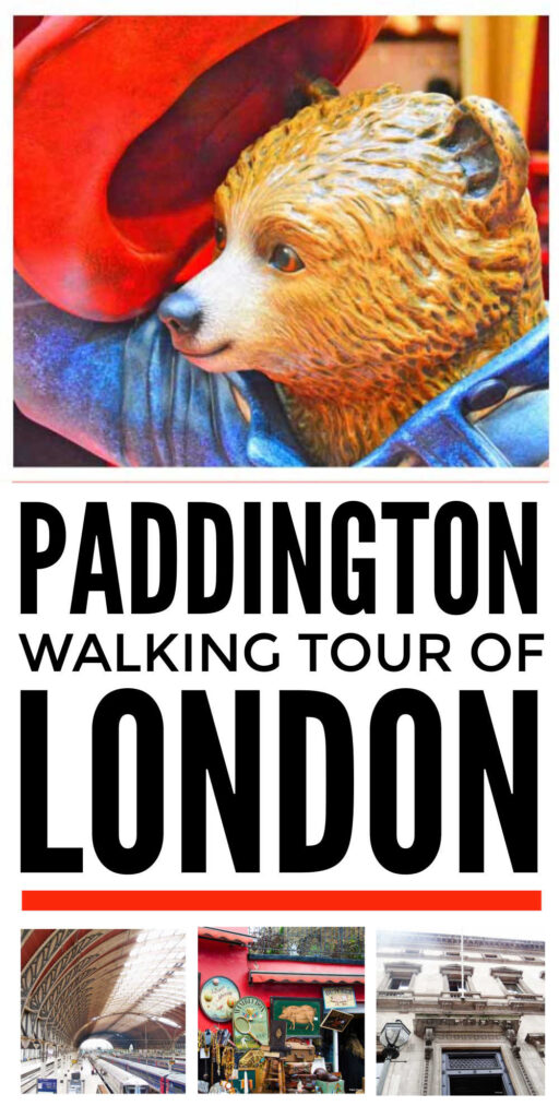 Walking Tour of Paddington Locations in London