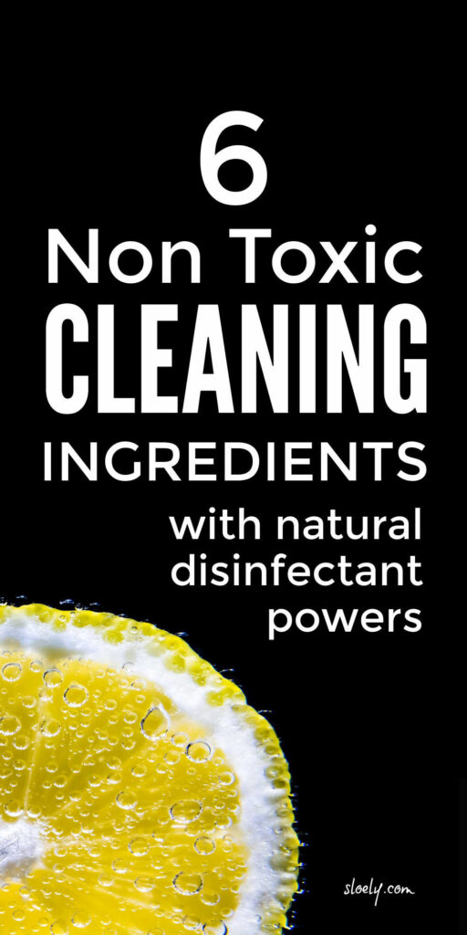 Natural DIY Disinfectant Cleaners