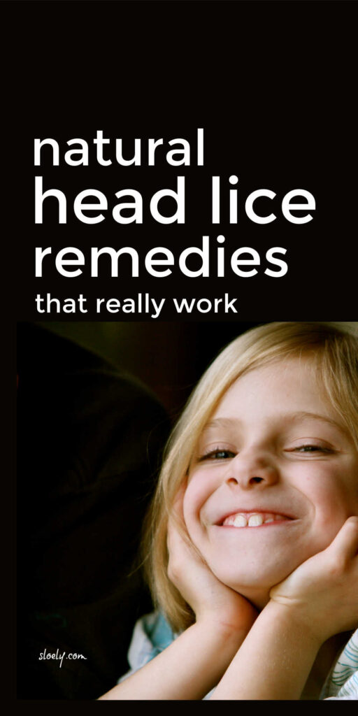 Natural Lice Remedies & Prevention