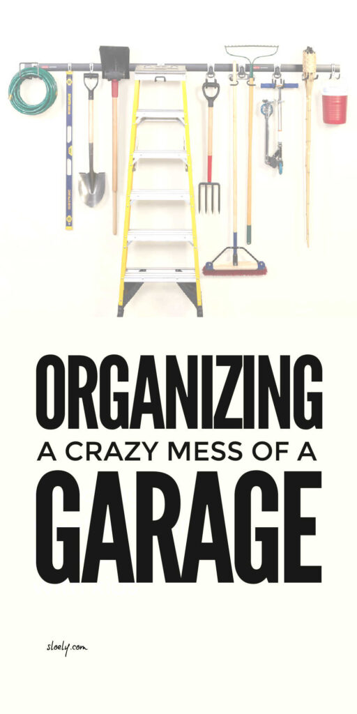 Declutter and organize your garage with this step by step guide and declutter checklist to clearing all the clutter from your garage and creating the space to really get organized. #decluttergarage #organizegarage #garageorganization #organizedgarage #decluttertips #declutterchecklist