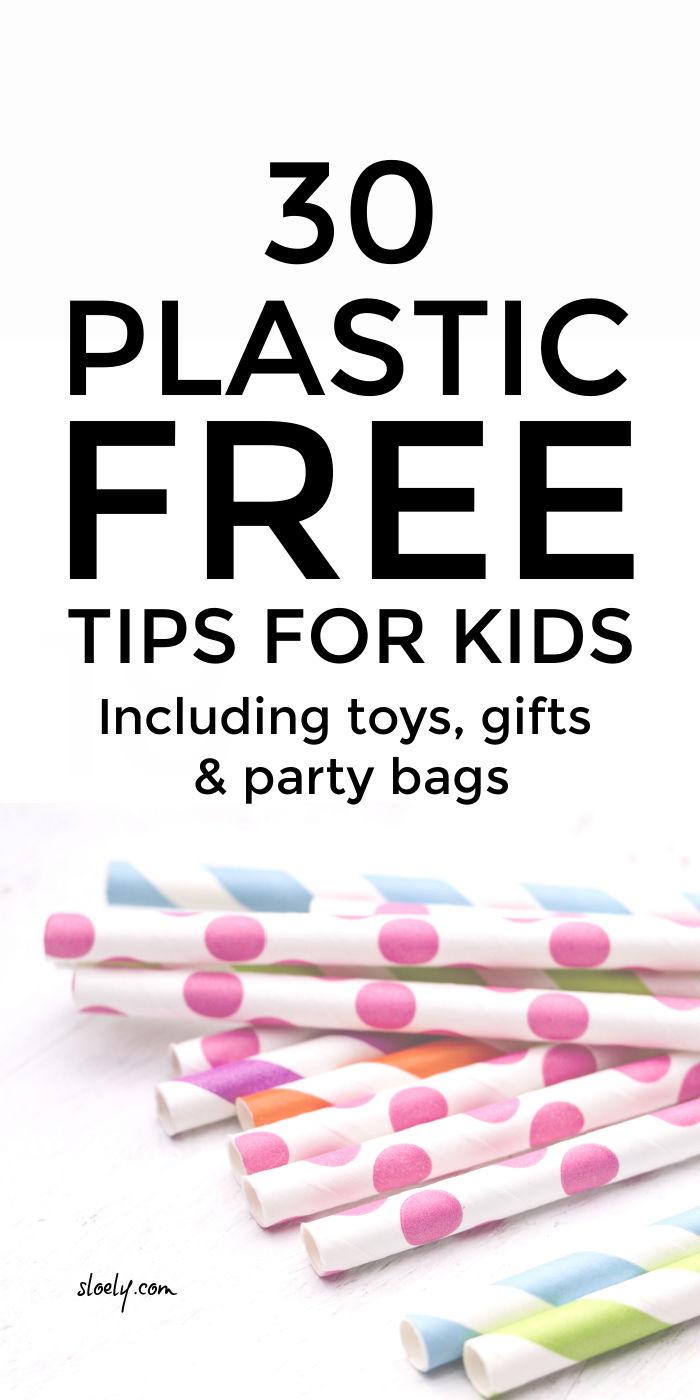 Plastic Free Living Tips for Kids