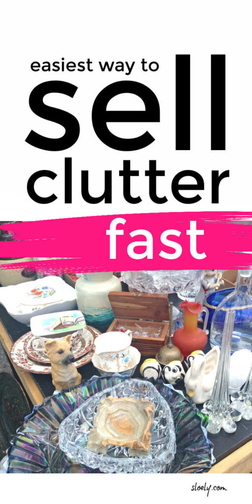 How To Sell Clutter To Make Extra Money