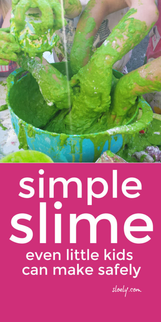 Easy Safe Slime Recipe Without Borax or Glue