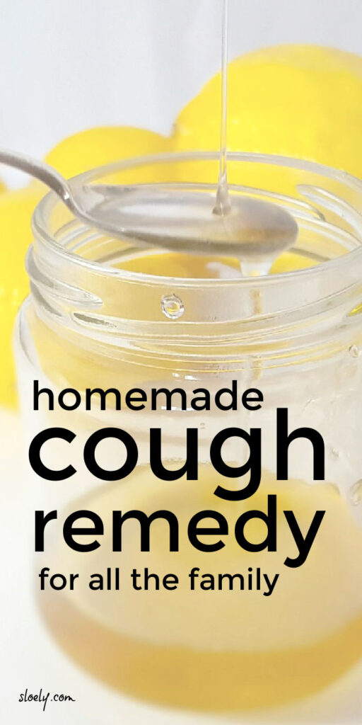 Simple Homemade Cough Remedy