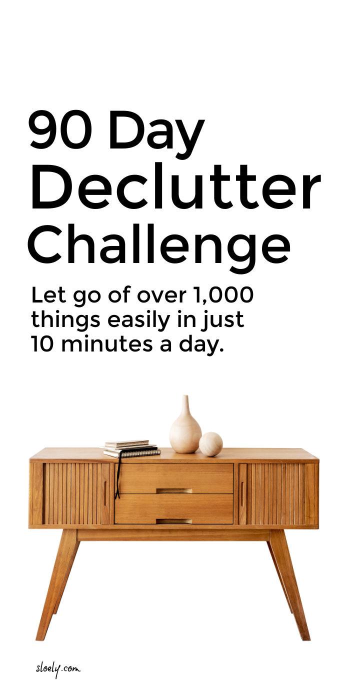 90 Day Declutter Challenge