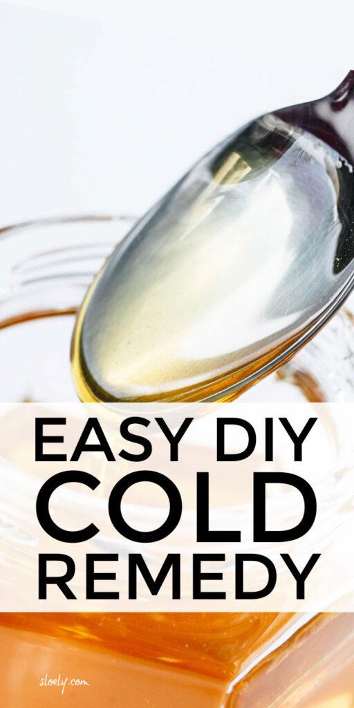 Easy DIY Cold Remedy